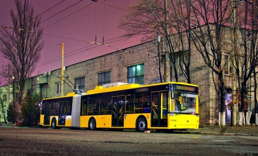 Из-за ремонта дорог столичные троллейбусы будут ездить по-другому