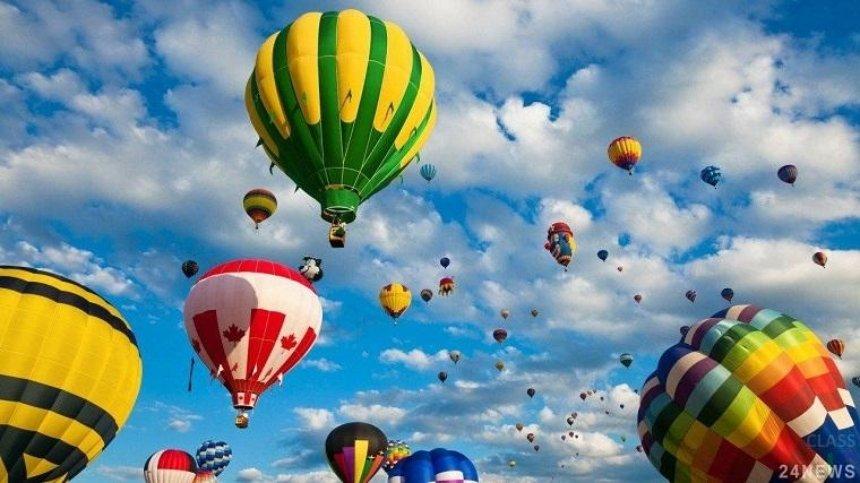 В Киевской области пройдет фестиваль воздушных шаров