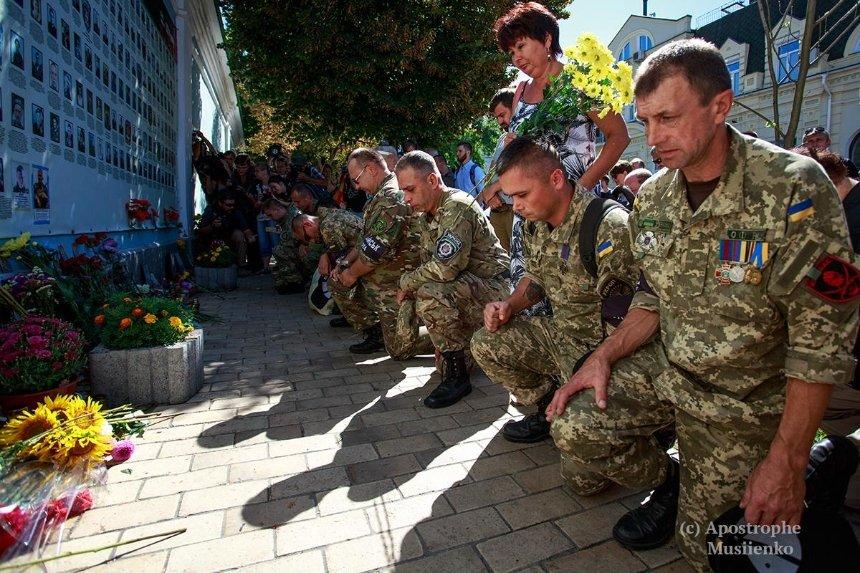 На Михайловской площади почтят память погибших в Иловайской трагедии
