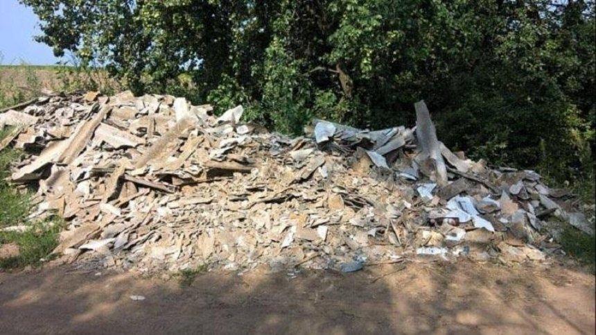 В Киевской области обнаружили свалку опасных отходов (фото)