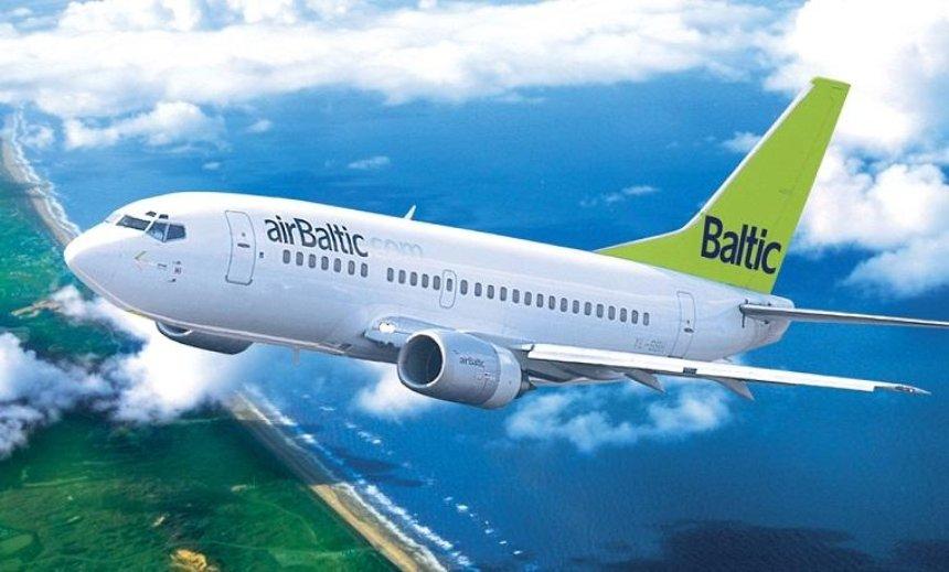 Авиакомпания АirBaltic объявила распродажу билетов на рейсы в Европу