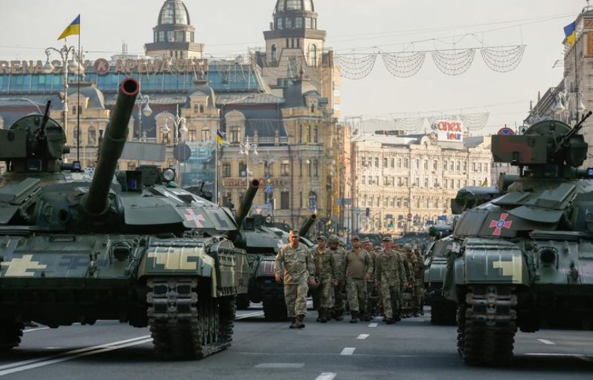 Сегодня центр Киева перекроют раньше, чем планировалось