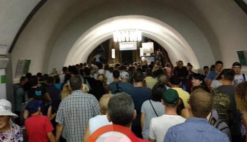 На «Вокзальной» потеряла сознание женщина (фото)
