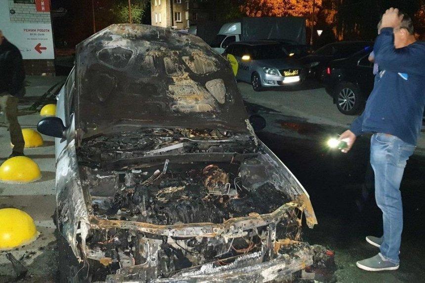 Под Киевом сожгли авто журналистов программы «Схемы»