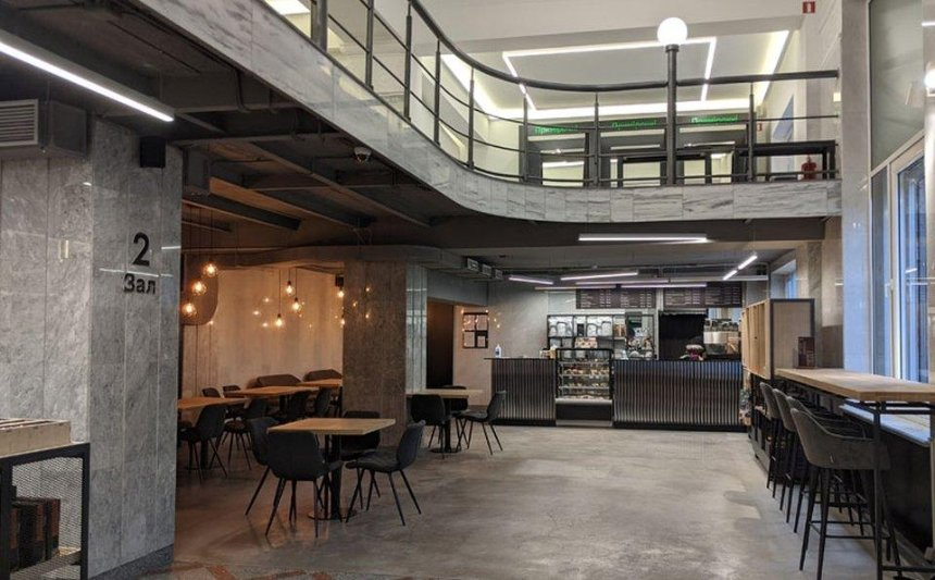 Rozetka открыла кофейню в здании Главпочтамта
