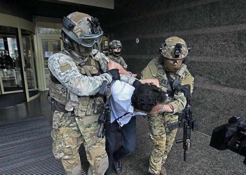 Захват банка в центре Киева: «киевскому террористу» избрали меру пресечения