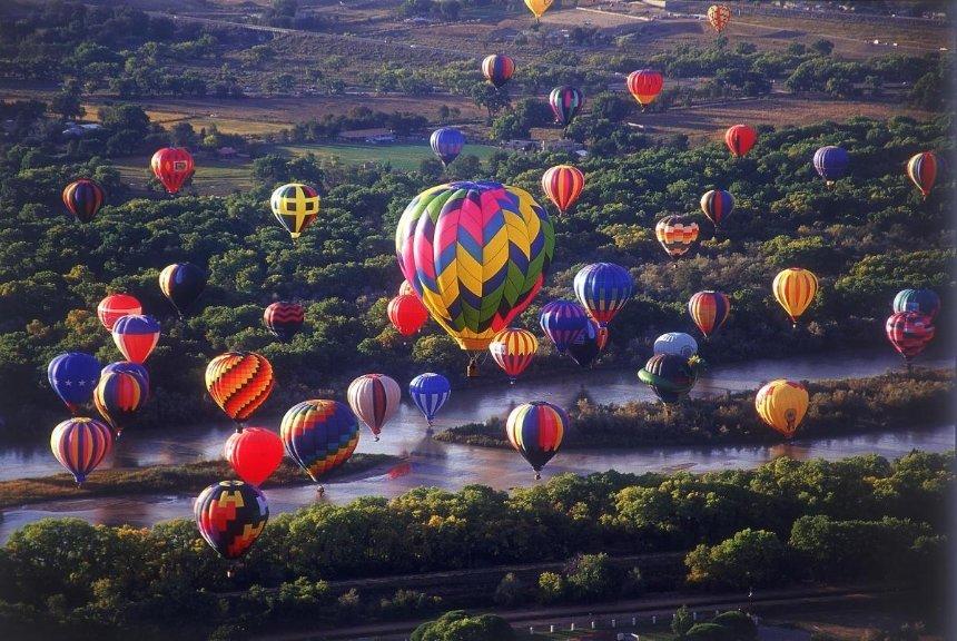 В Белой Церкви пройдет фестиваль воздушных шаров: на них можно полетать