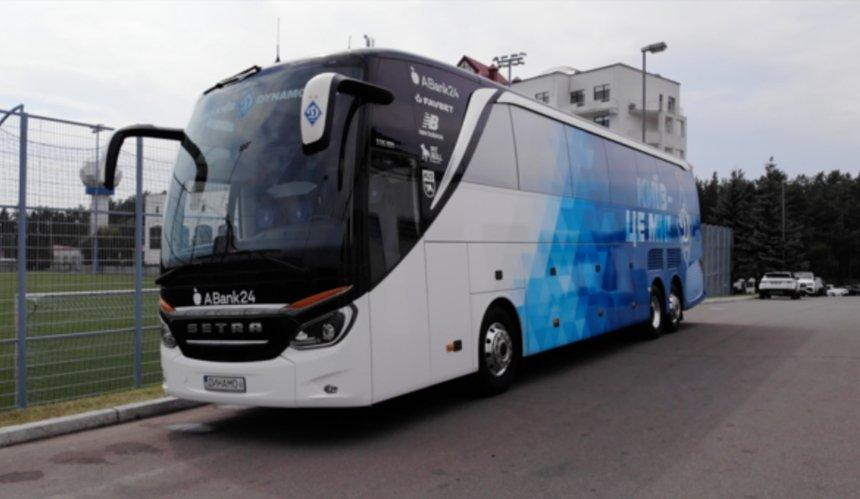 В«Динамо» показали новый автобус клуба спанорамной крышей