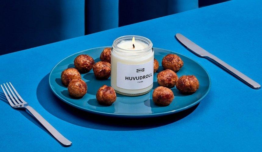 IKEA выпустила свечи сароматом фирменных фрикаделек