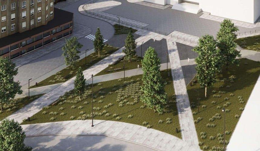 НаОболони обустроят «карманный» сквер: как онбудет выглядеть