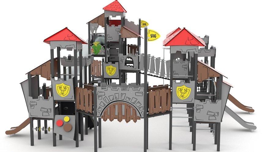 В Голосеевском парке хотят уставновить детскую площадку за 3 млн грн