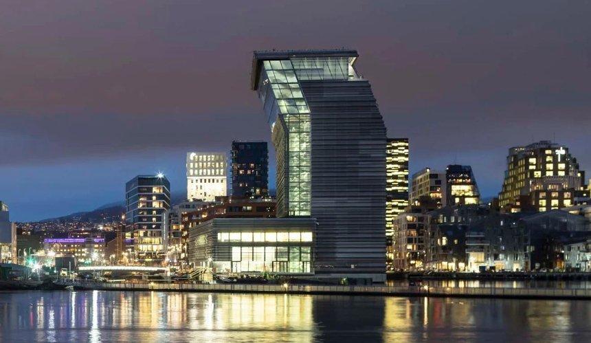 В Осло построили музей Мунка: он создан из переработанных материалов