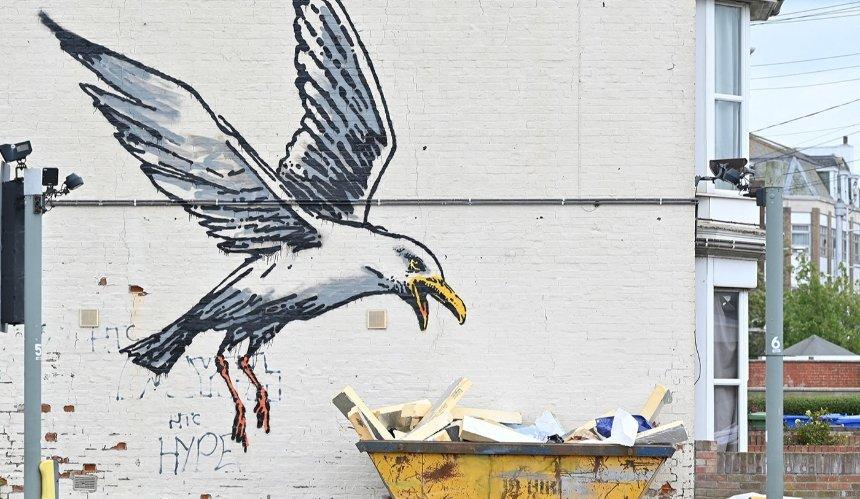 Бэнкси нарисовал новые граффити: где их можно увидеть