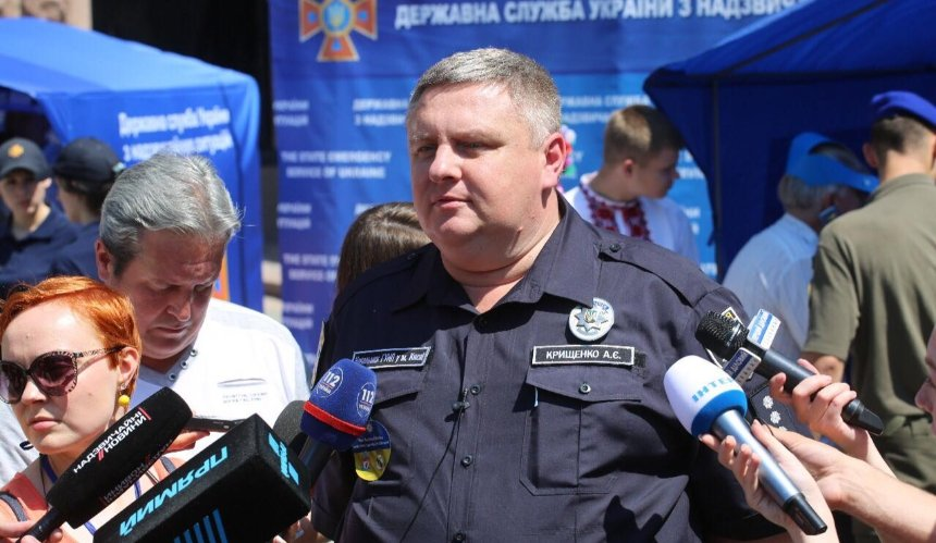 Глава полиции Киева Крищенко подал в отставку