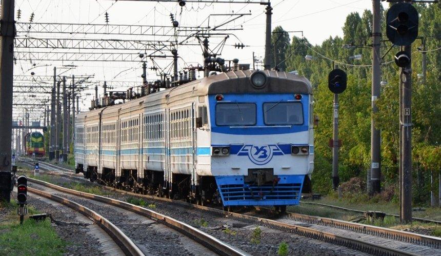 В столице отменили три рейса городской электрички