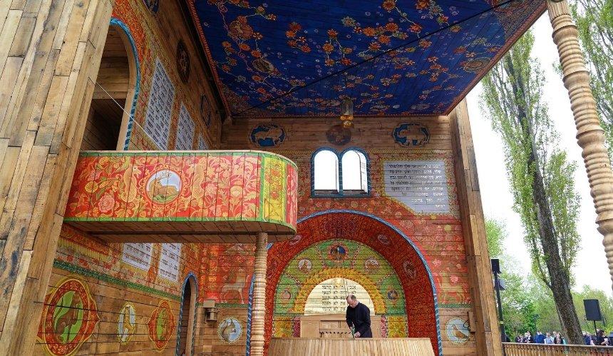 Синагога в Бабьем Яру попала в шорт-лист архитектурной премии Dezeen Awards