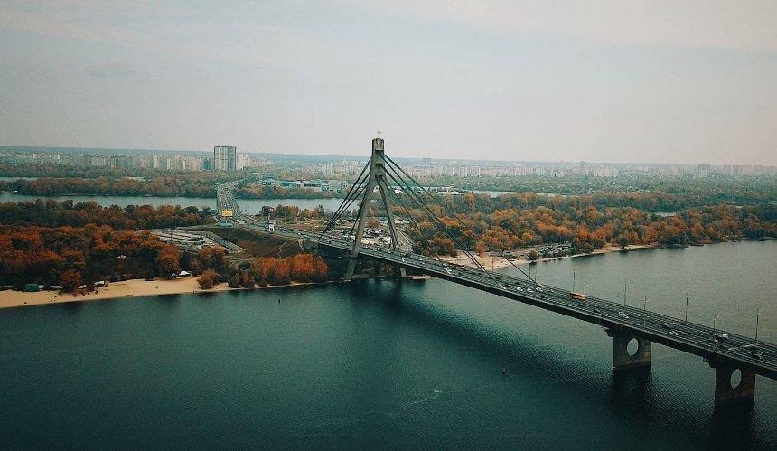 Часть Северного моста в Киеве перекрыли на несколько недель