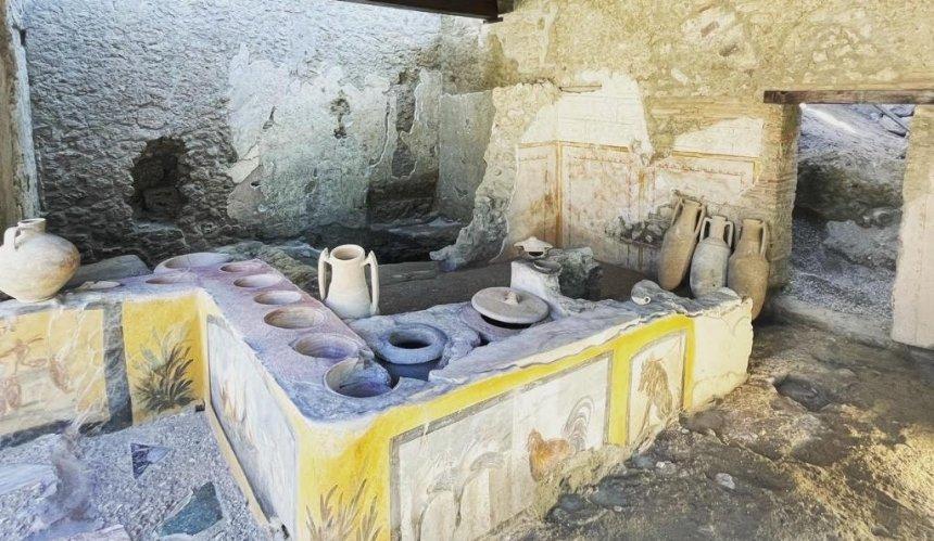 ВИталии заново откроют закусочную, которой около двух тысяч лет
