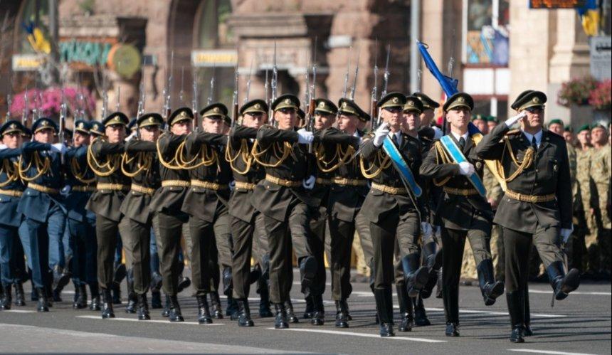 Из-за репетиций парада в Киеве три дня будут перекрывать более 30 улиц: список