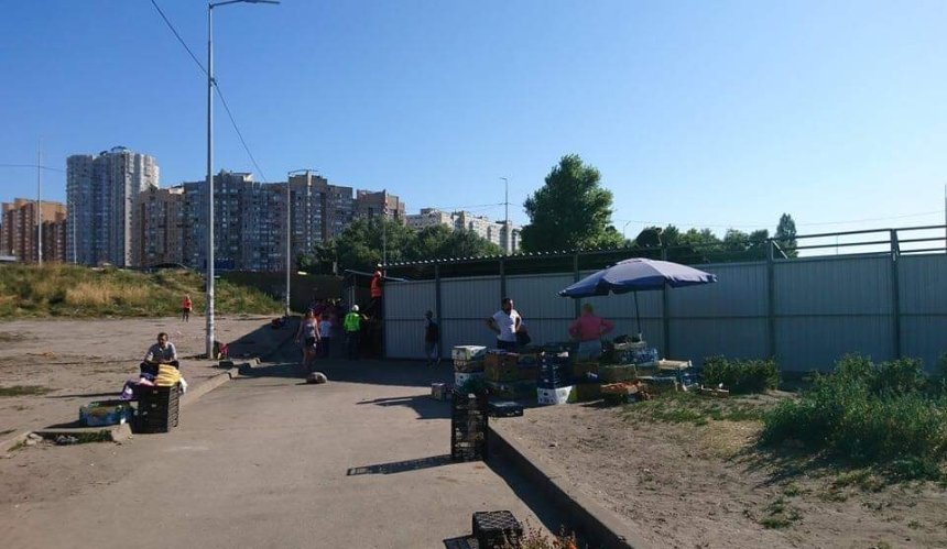 Возле метро «Осокорки» будт строить ТЦ вместо сквера: разрешение дала КГГА