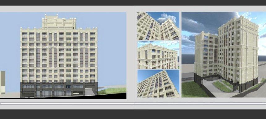 Проект 13-этажного ЖК. Фото: t.me/map_renovation/306
