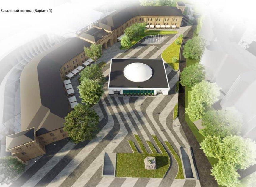 Визуализация к проекту обновленной площади. Фото: facebook.com/yaroslavdid