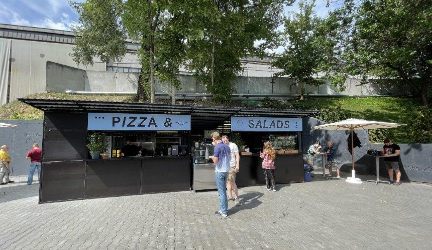 Новое место: Pizza & Salads возле «Лукьяновской» и «Дорогожичей»