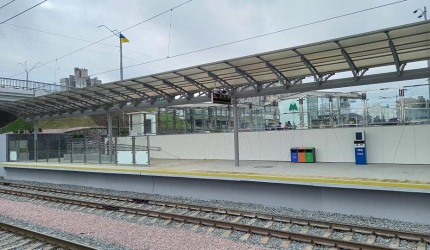 Нажд-станции «Святошин» построили новую платформу