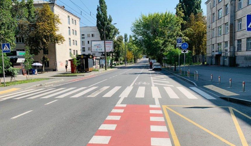 В Киеве обустроили новые велодорожки