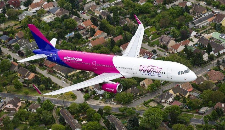 Wizz Air возобновляет рейсы в Будапешт из Киева