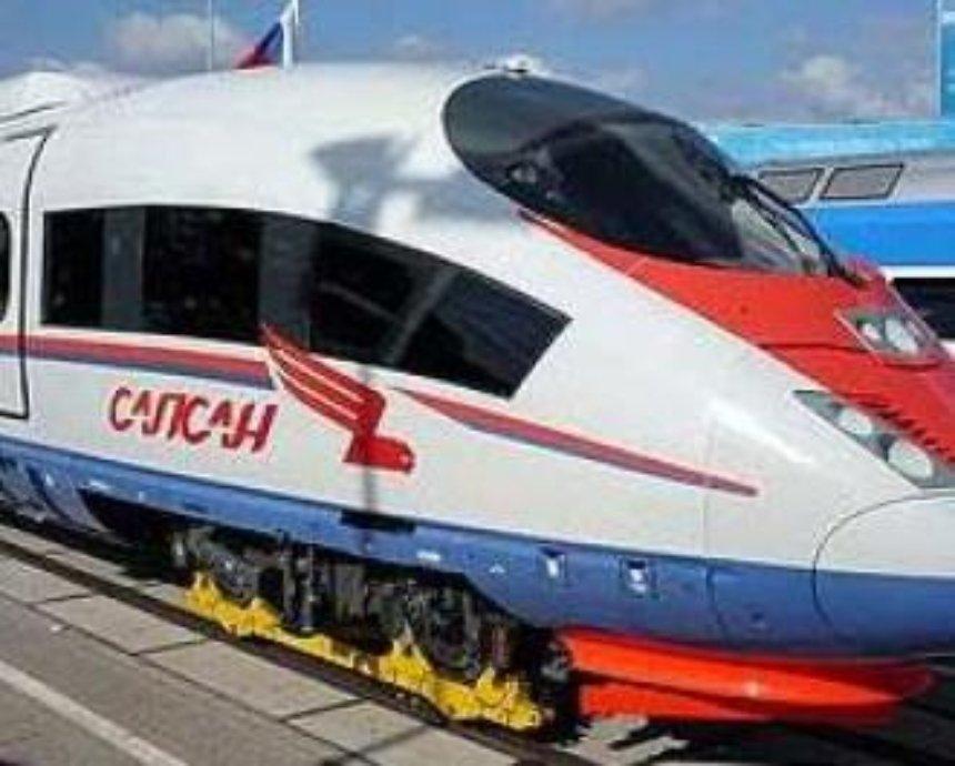 Скоростной железнодорожный маршрут от Москвы до Питера решили продлить в Киев