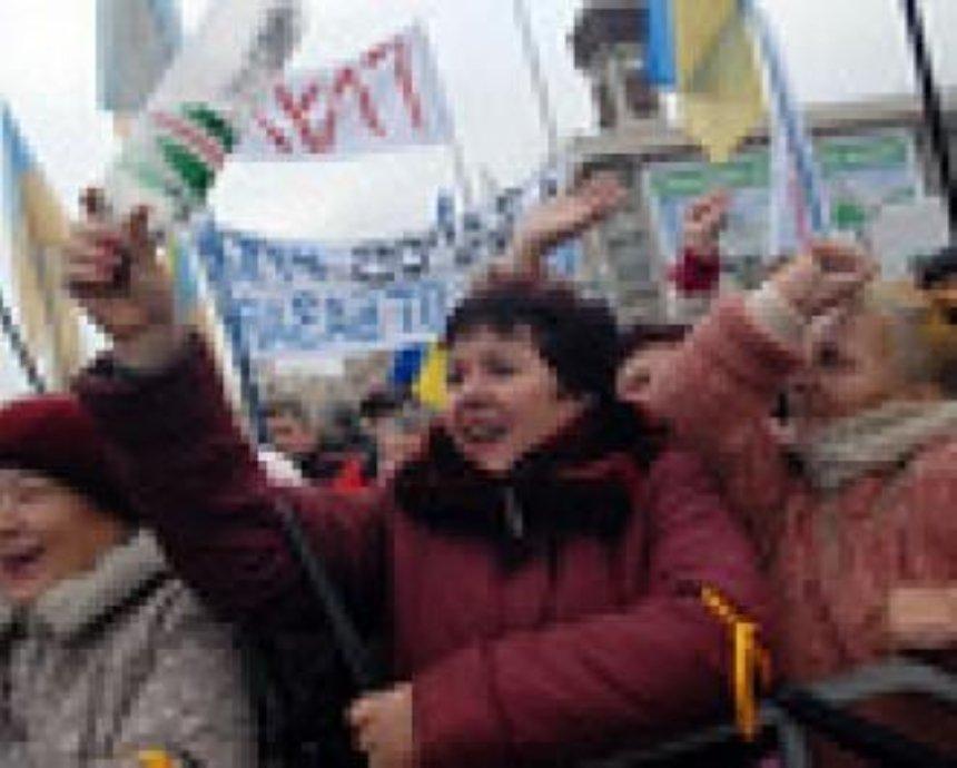 На два дня в центре Киева запрещены массовые акции