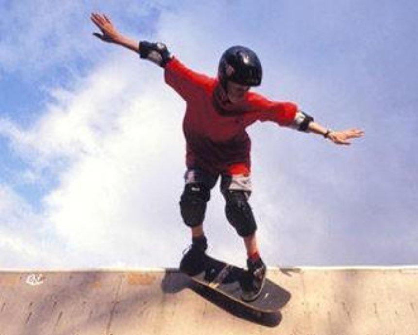 Первый столичный скейт-парк: войдет только самый ловкий