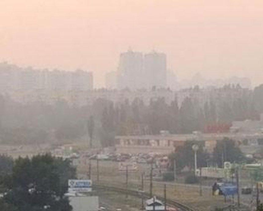 Из-за жары в Киеве — превышение нормы загрязнения воздуха