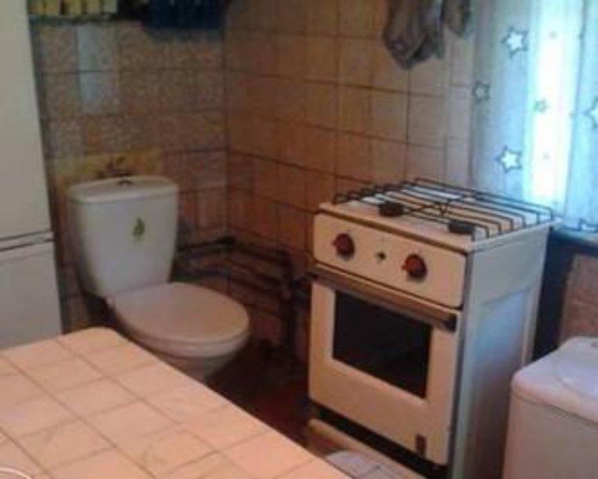 В Киеве сдают квартиру с унитазом на кухне (фото)