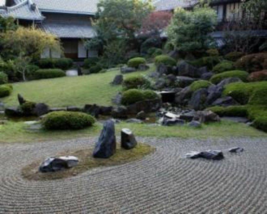 Весной в парке Киото появится японский сад камней