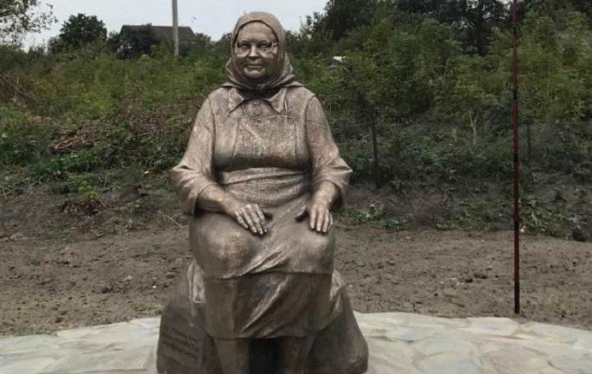 Под Киевом появился памятник Матери (фото)