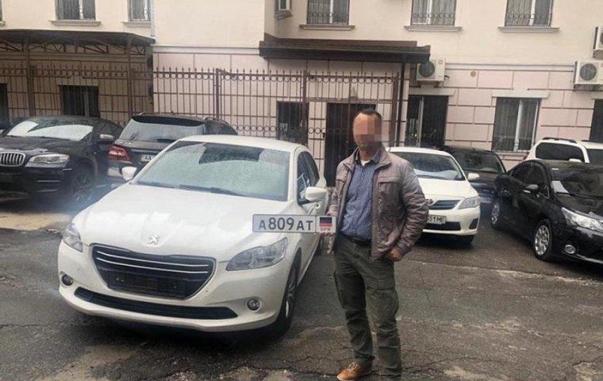 СБУ задержала водителя с номерами «ДНР» (фото)