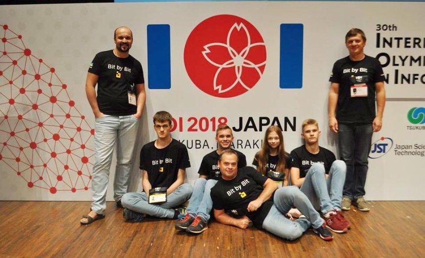 Украинцы выбороли четыре медали на олимпиаде по информатике