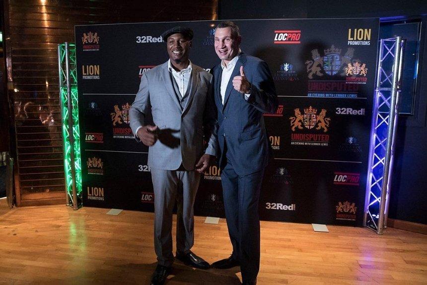 В Киев приедет легендарный боксер Леннокс Льюис