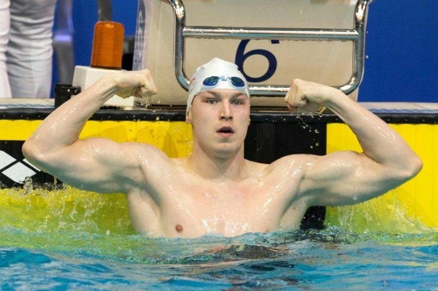 Украинский пловец завоевал золотую медаль на этапе Кубка мира