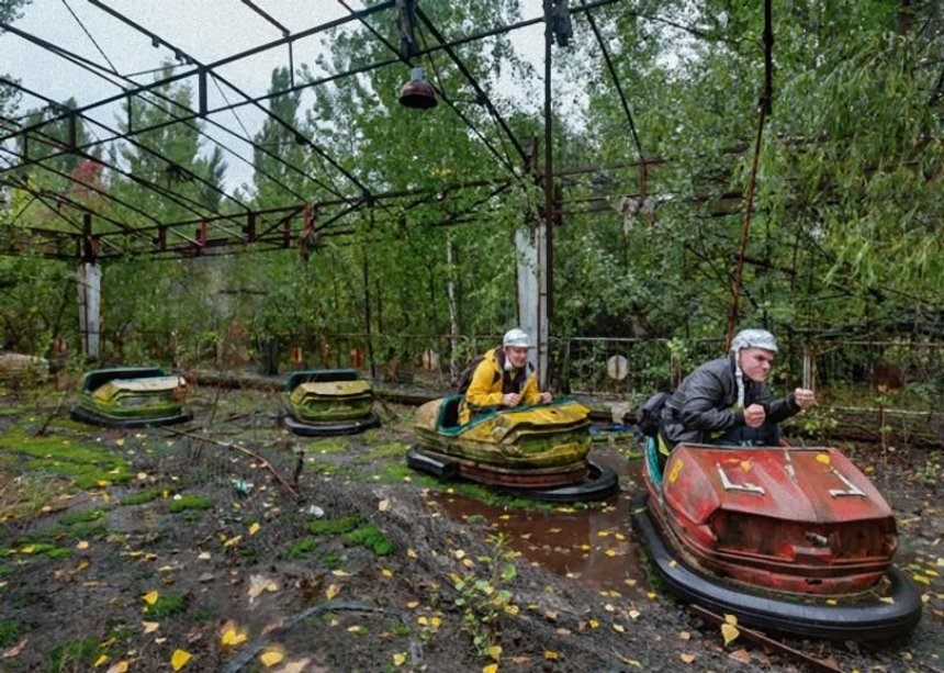 УЧорнобильській зоні з'явилися нові туристичні маршрути