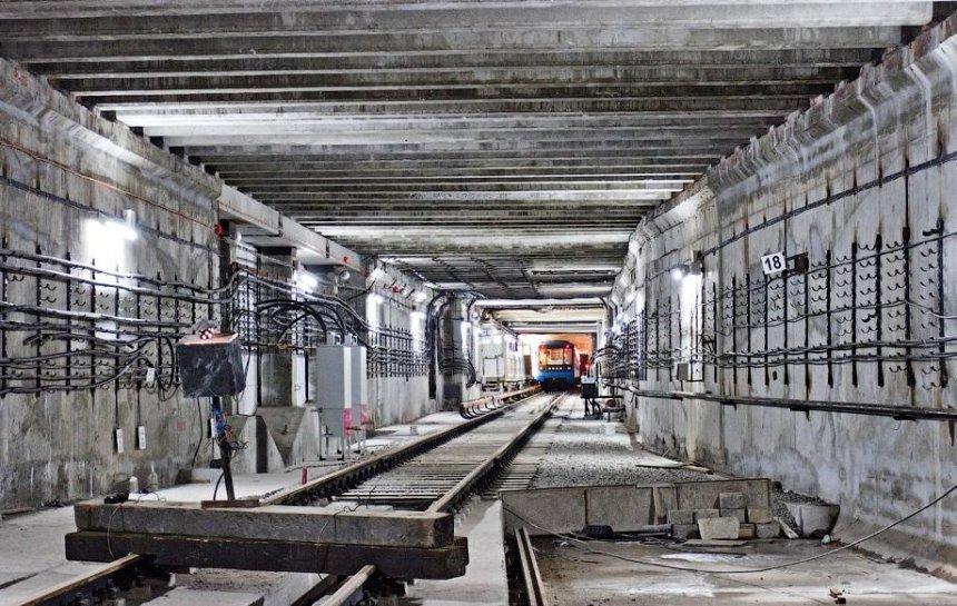 В Киеве начали строить метро на Теремки-2