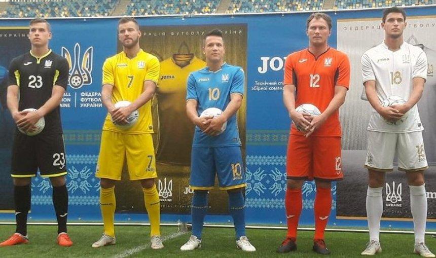 Сборная Украины по футболу впервые будет играть в белой форме