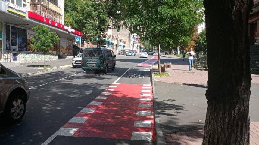 В Шевченковском районе появилась еще одна велодорожка