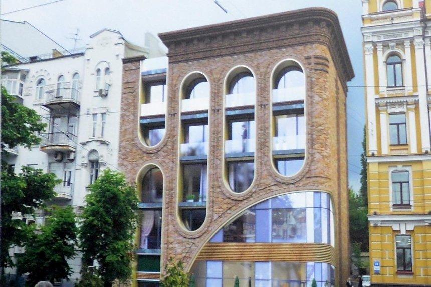 На месте снесенного исторического дома на Саксаганского хотят провести «реконструкцию с надстройкой»