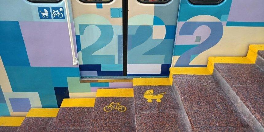 В фуникулере появились пиктограммы для велосипедистов и людей с колясками