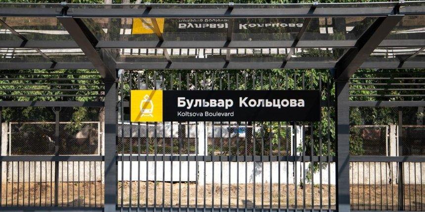 Кличко сказал, когда закончат реконструкцию станции скоростного трамвая «Бульвар Кольцова»