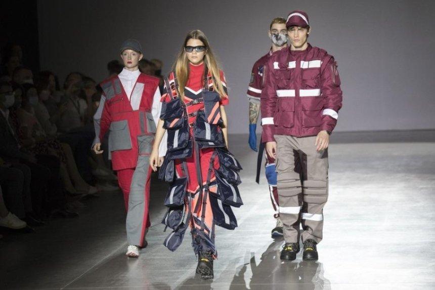Спецодежду для коммунальщиков Киева показали на подиуме Ukrainian Fashion Week