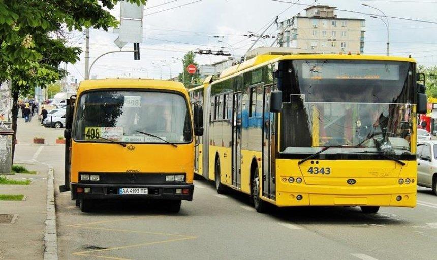 В Киеве на проспекте Соборности остановят движение троллейбусов